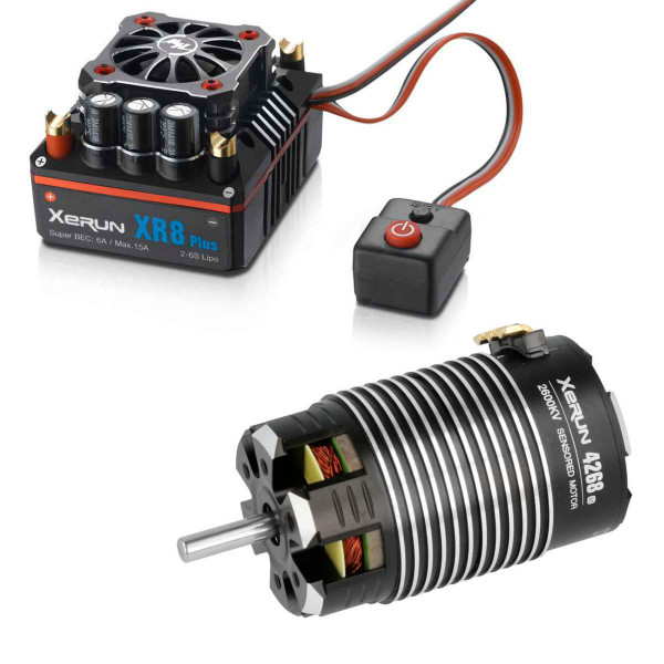 Xerun XR8 Plus Combo mit 4268-2600kV für 1:8 On Road