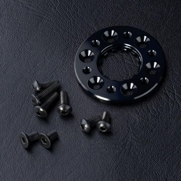 Motorkühlkörper Scheibe 3mm Alu schwarz