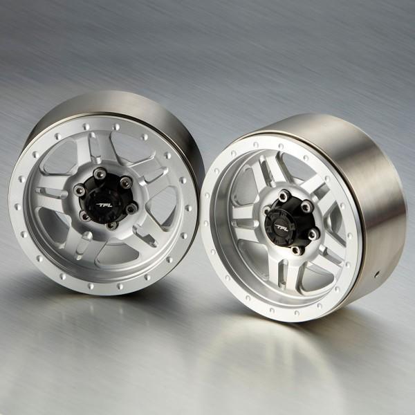 """Felgen 5 Speichen 1,9"""" Silber/Silber (2 Stk.)"""