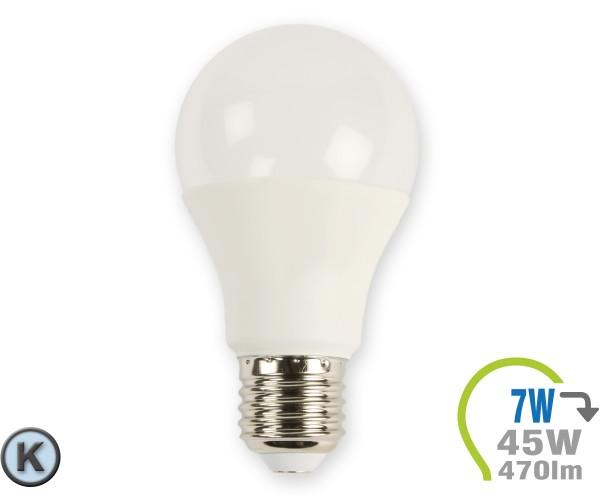 E27 LED Lampe 7W A60 Kaltweiß
