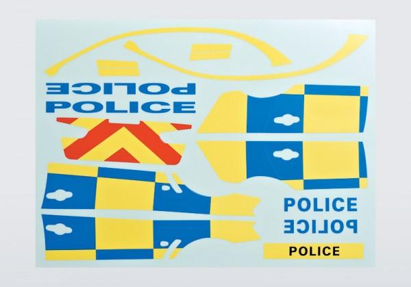 Dekorbogen Police