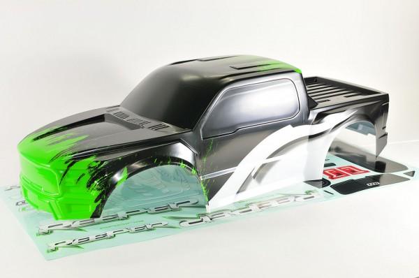 Reeper Karosserie Grün lackiert mit Dekorbogen