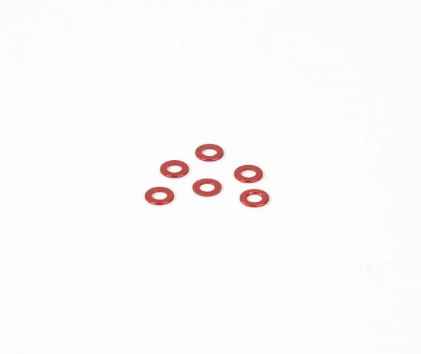 0.5x6mm Distanzstück - Rot (6Stk.)