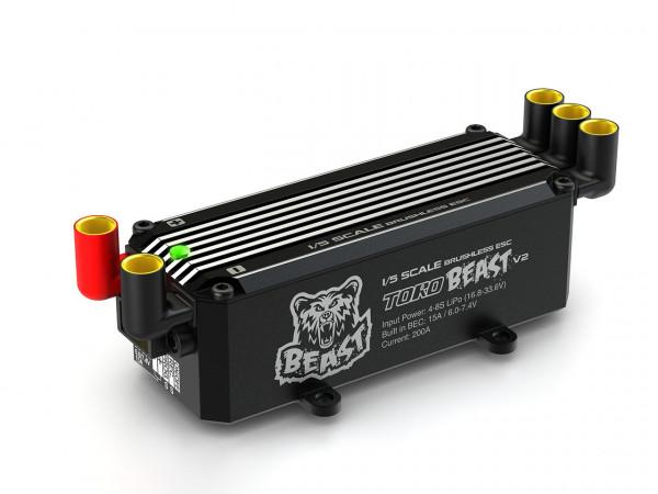Toro Beast 200A 4-8s LiPo für 1/5 Großmodelle Regler