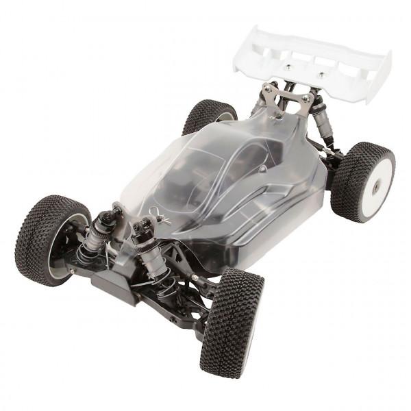 Hyper VSE Elektro Buggy 1/8 80% ARR Roller (klare Karosserie