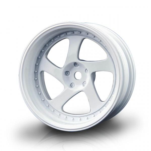 Drift Felge TMB weiß (+8mm Offset) (4 Stück)