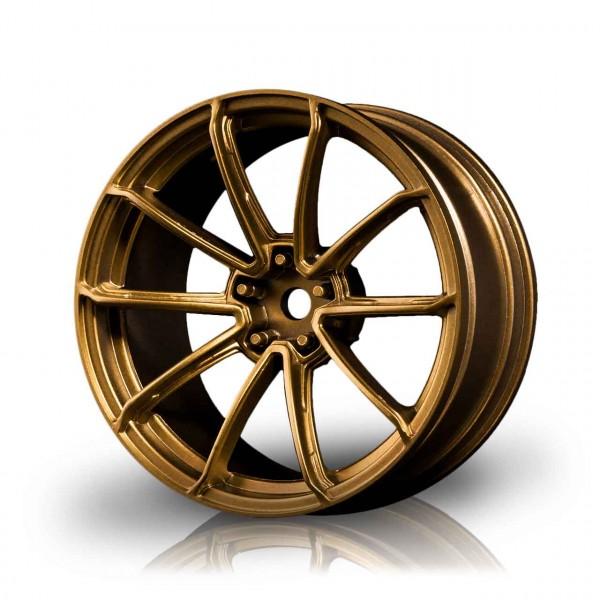 Drift Felge GTR Gold (+5mm Offset) (4 Stück)