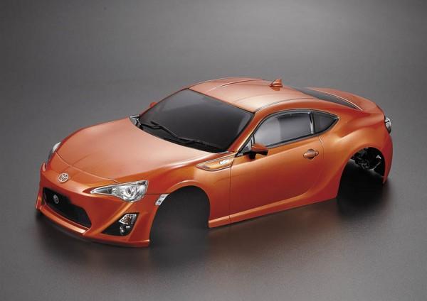 Toyota 86 Karosserie Orange 195mm RTU