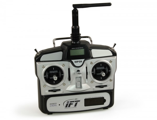 MP5H 5-Channel Helicopter Transmitter, Mode 2: Evolve 300 CX
