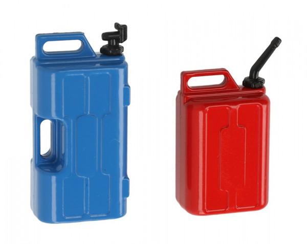 Bezinkanister und Wasserkanister Dekorset