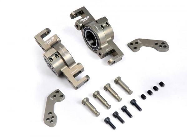 Radträger / Lenkhebel Set Aluminium Vorne (Optional)
