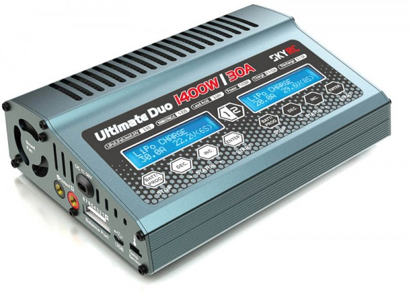 Ultimate Duo X2 DC Ladegerät LiPo 1-8s 30A 2x700W