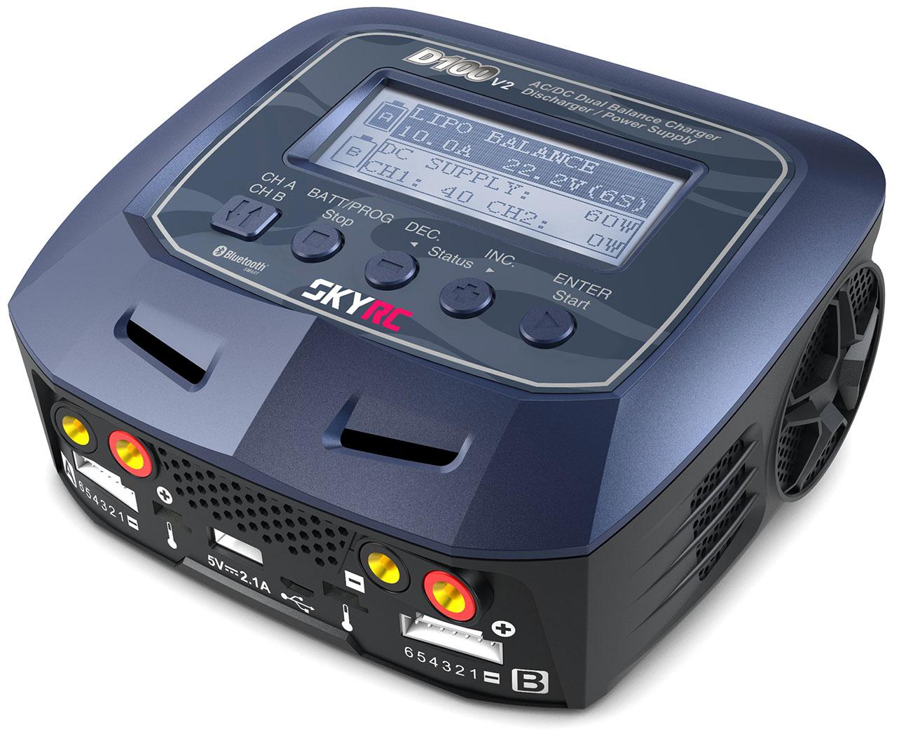 <strong>SkyRC D100 V2</strong><br />[SK100131]<br>Englisch