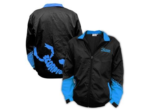 Scorpion Flying Jacket (Blue-XXXL)