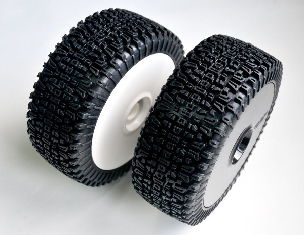 Dirt Xross Reifen und Felgen Blue Medium 180mm