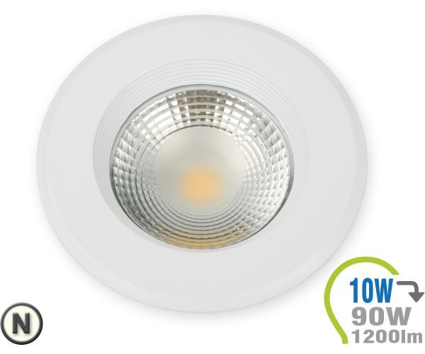 LED Einbauleuchte 10W Rund Neutralweiß