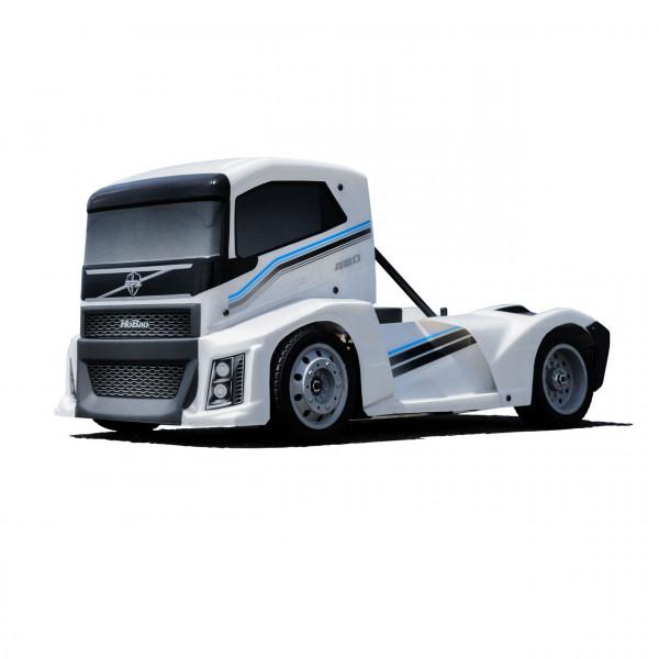 Hyper EPX Semi Truck On-Road ARR Karosserie Perl Weiß