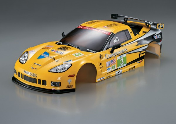 Corvette GT2 Karosserie Rally-Racing 190mm RTU