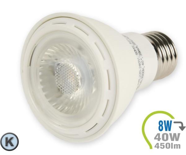 E27 LED Lampe 8W Spot PAR20 Kaltweiß
