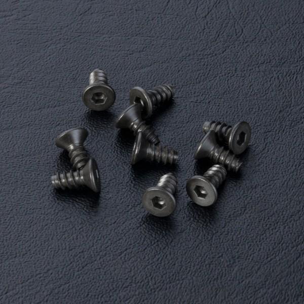 Flachkopfschneidschraube Innensechskant 3x7mm (10 Stück)