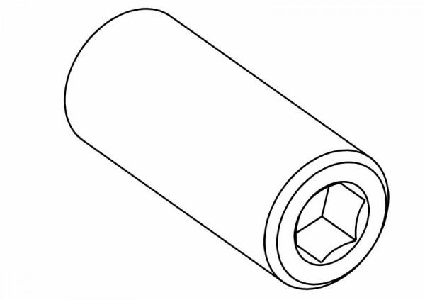 Gewindestifte / Madenschraube M5x12 mm