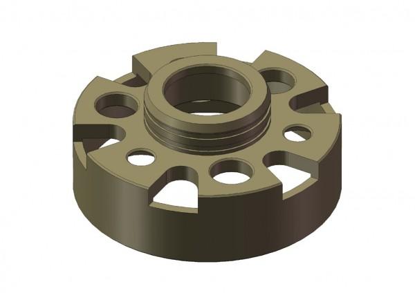 Aluminium 2-Gang Gehäuse