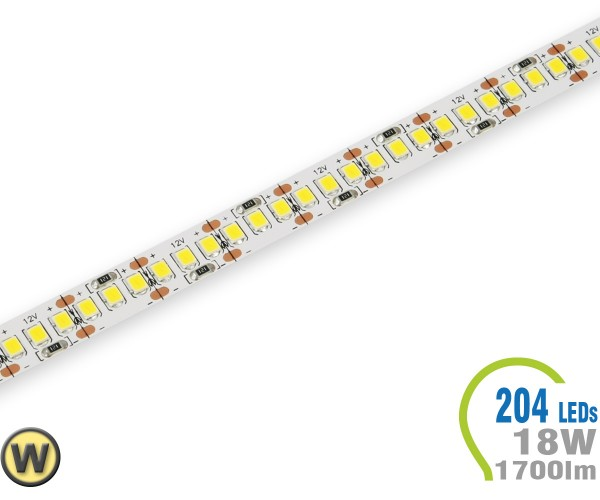 LED Stripe 204 LED/m 1700 lm/m  Warmweiß