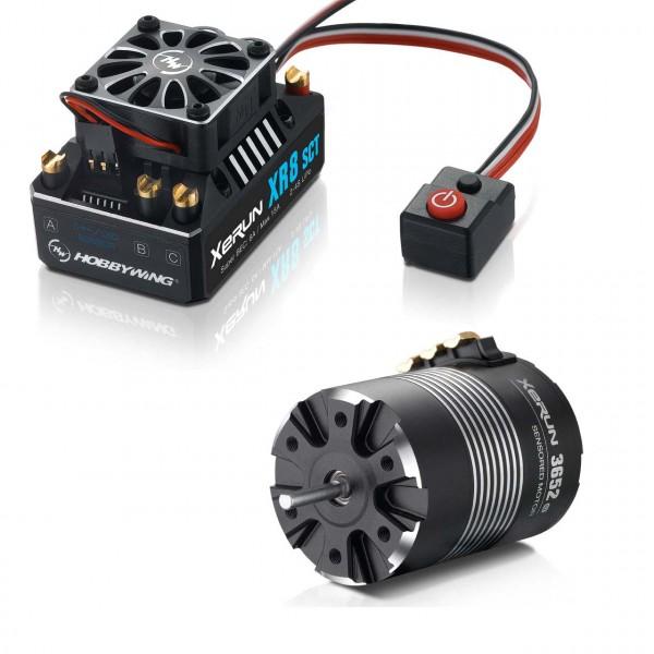 Xerun XR8 SCT Combo mit 3652-3100kV (5mm Welle) für 1:10 4WD