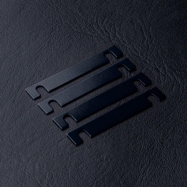Distanzierungsplatte 0.5mm blau (4 Stück)