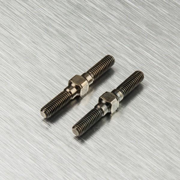 Gewindestange Gewindestange L/R Stahl 3x25mm (2 Stück)