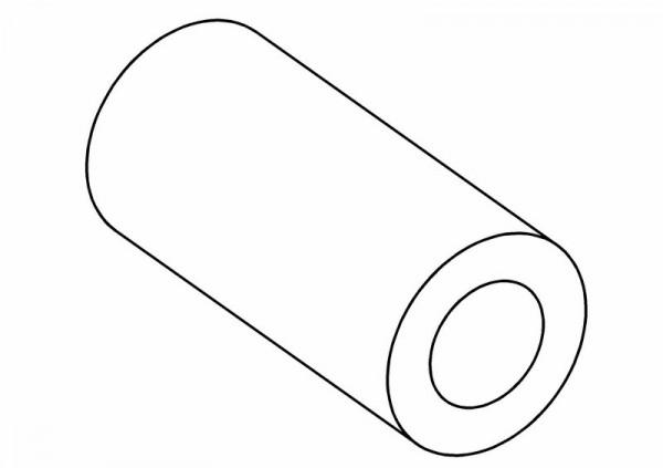 Silikondämpfer für Gas / Bremsgestänge Schlauch 5cm