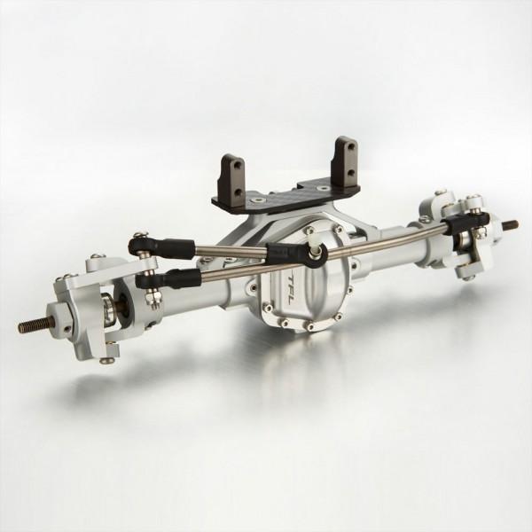 Antriebseinheit Vorne komplett V2 Silber für Axial SCX 10