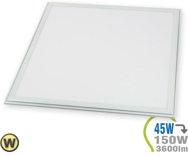 LED Panel 45W 60x60cm inkl. Treiber Warmweiß
