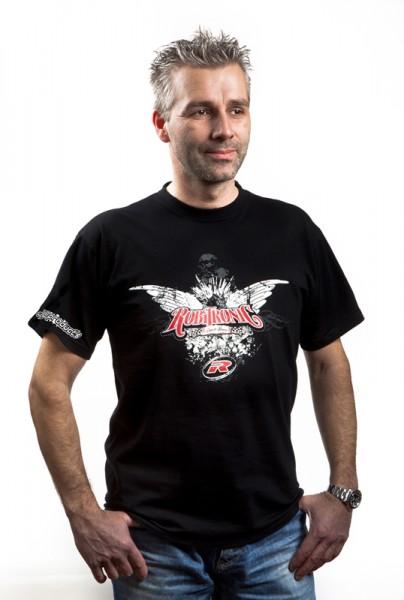 "Robitronic Grunged Shirt - JQ Edition ""XXL"" (190g)"
