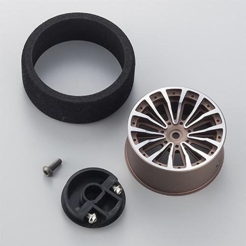 Aluminium Lenkrad für KIY (Grau) für EX-RR,EX-1,EX-2