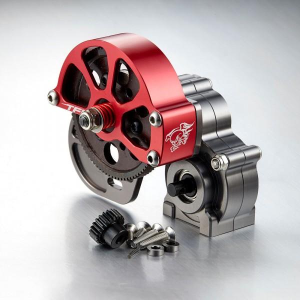 Getriebe komplett, Hauptzahnrad aus Metall für Axial SCX10