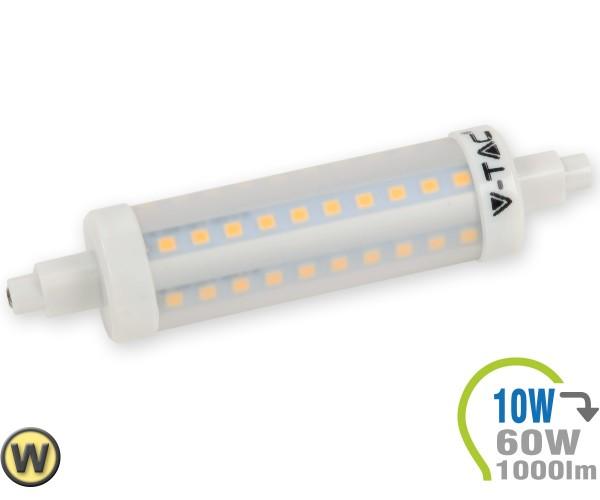 R7S LED Lampe 10W Warmweiß