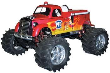 Fire Truck unlackiert 1/10
