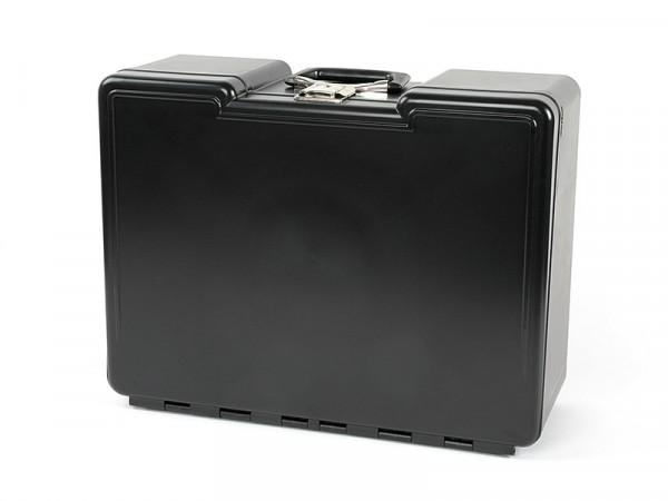 Polybutler Werkzeugkoffer schwarz mit 8 Schubladen