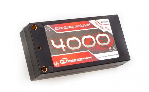 LiPo Akku 4000mAh 2S 60C Short Racing Pack