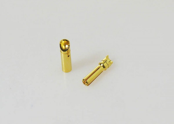 Goldkontakt Bullets DB4 4mm (3 Paar)