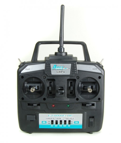 6HPA 6-Channel HP Airplane Transmitter, Mode 2: Gamma 370