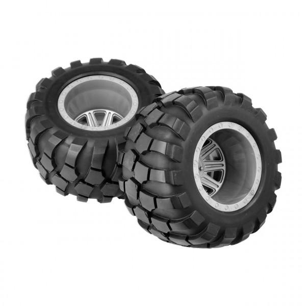 Wheel & Tire Glued (Grey)