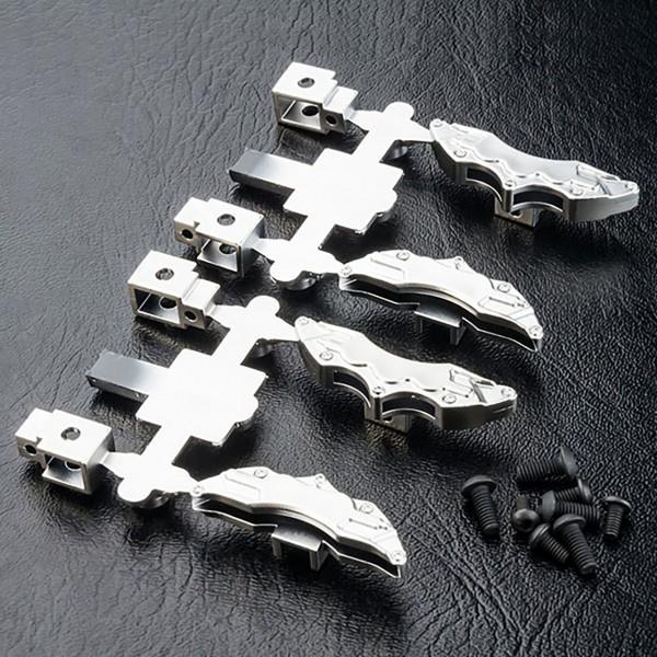 Bremszange silber matt (4 Stück)