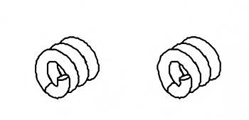 Kugeldifferntialfeder (2 Stk)