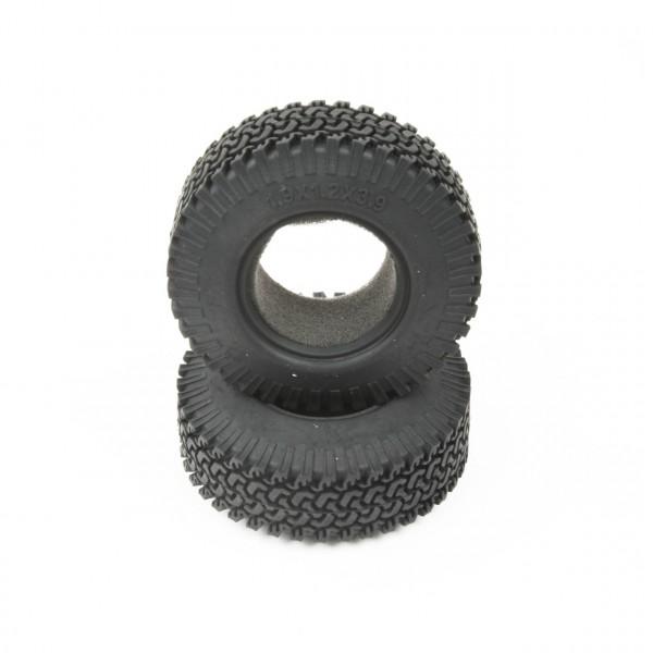 """Reifen mit Einlage 1,9""""x3,9"""" Version D (2 Stk.)"""