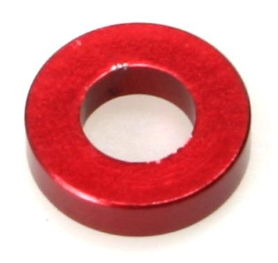Distanzhülse für T-Bar rot eloxiert