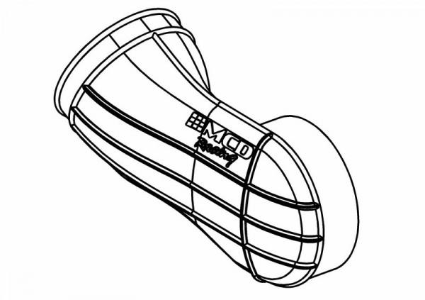 Luftfilter L-Tube Gummiverbinder