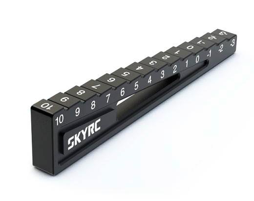 Bodenabstandslehre 3-10mm Schwarz