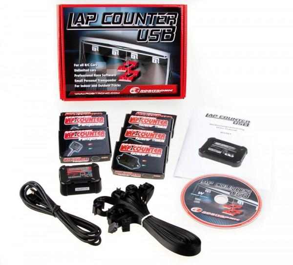 LapCountSystem USB mit 3 Transponder